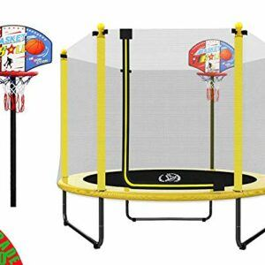 "LANGXUN 60"" Mini Trampoline for Kids"