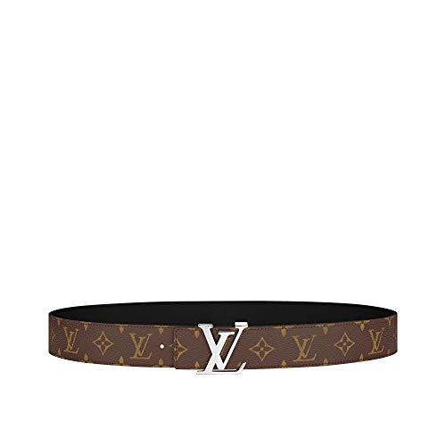 Louis Vuitton Monogram Canvas LV Initiales 40mm Reversible Belt