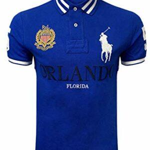 Polo Ralph Lauren Mens Custom Slim Fit Mesh City Polo Shirt