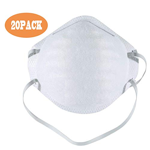 Non-Toxic Disposable Paint Sanding Dust Particulate Respirators (20)