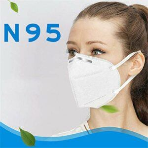 10 PCS Mouth Mas-ks 4-Ply PM2.5 Reusable Respirator Face Mas-ks for Men Women