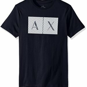 A|X Armani Exchange Men's Crew Neck Logo Tee