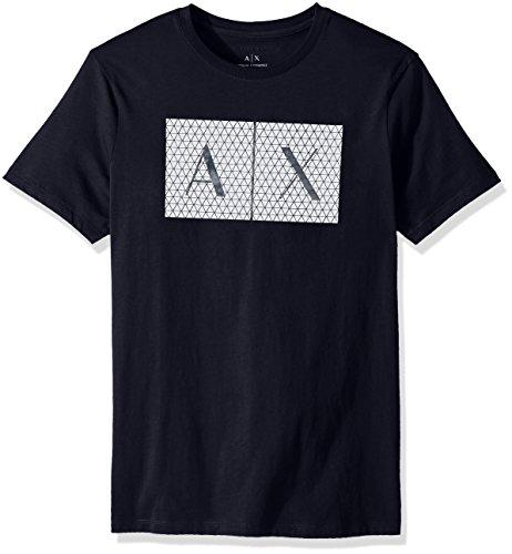 A X Armani Exchange Men's Crew Neck Logo Tee