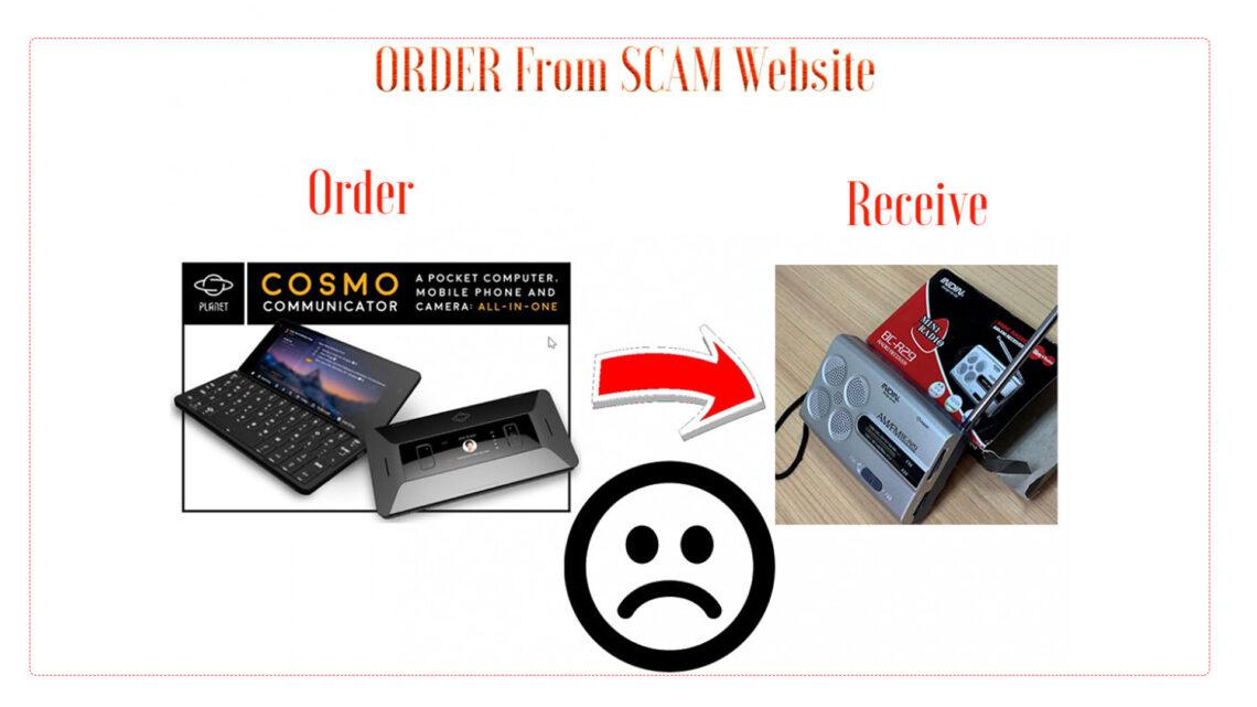 scam website
