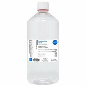 Propylene glycol E1520 I 99.5% I 100 ml to 10 L I Ph.Eur I HERRLAN Quality I Made in Germany 1 L