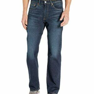 Levi's Men's 505 Regular Fit Jeans, Durian Tint - Stretch, 40W x 30L