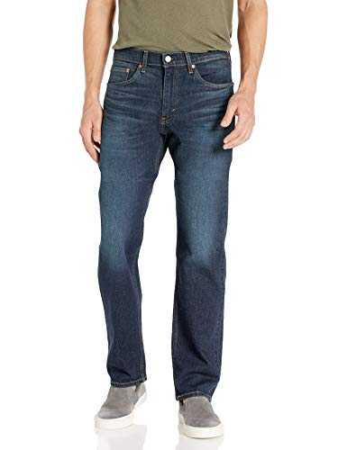 Levi's Men's 505 Regular Fit Jeans, Durian Tint - Stretch, 40W x 30L
