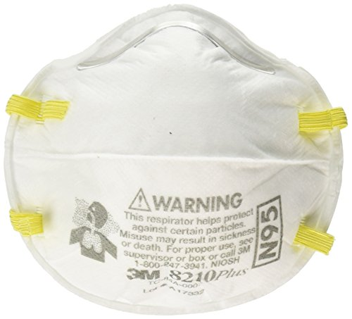 3M Safety 142-8210PLUS N95 8210Plus Particulate Respirator (Box of 20)