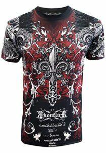 Konflic Men's Original Design Crew Neck MMA Muscle T-Shirt
