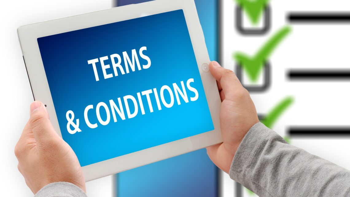 term &condition